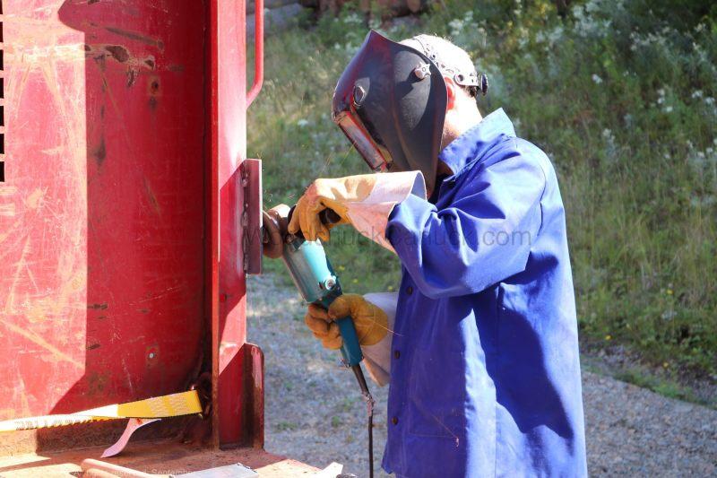 DIY Grinding welds