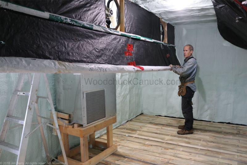 building a kiln, kiln dried lumber, Loch Katrine, Antigonish County, Nova Scotia