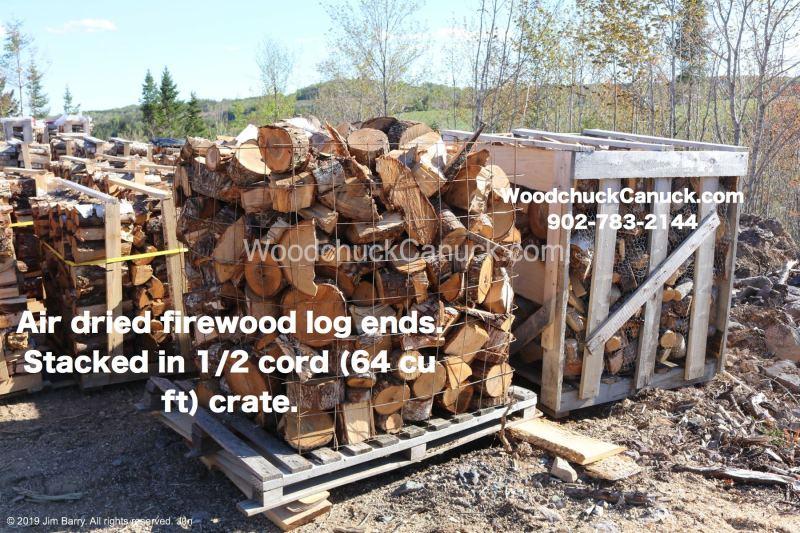 Firewood ends, firewood sales, Nova Scotia