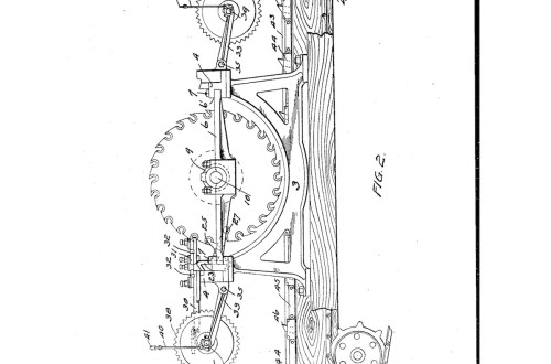 02-12-1904 patent 0799836 1904-02-12 DIAMOND IRON WORKS Hermann G Dittbenner improvement in twin circular saw mills Pg 2 of 8