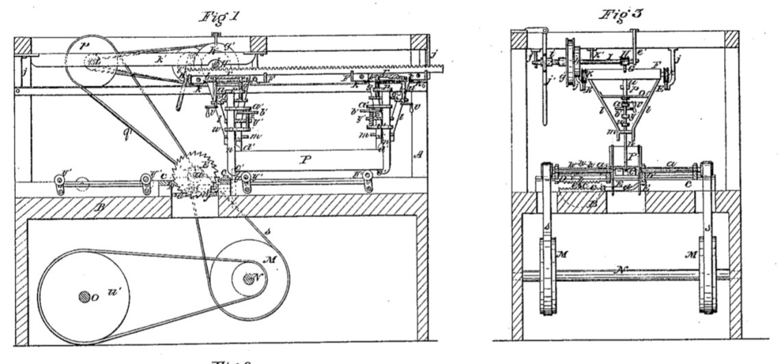 03-03-1857 patent US16725A circular sawing machine