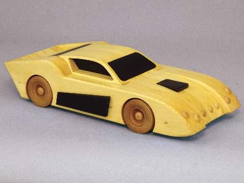 Custom Race Car Woodworking Plan