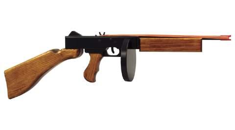 Rubber Band Machine Gun Woodworking Plan