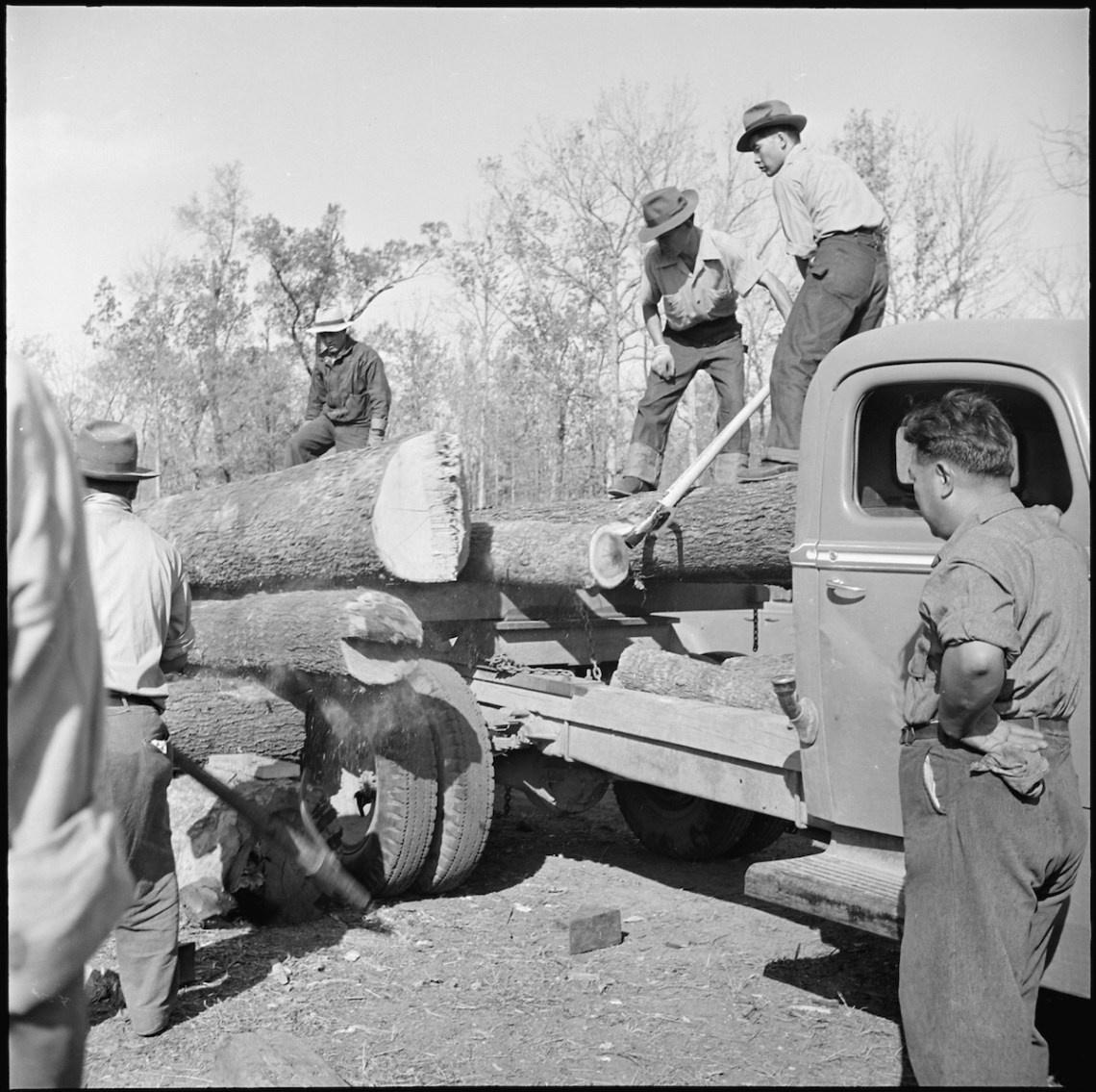 1942 Jerome Relocation Center, Denson, Arkansas