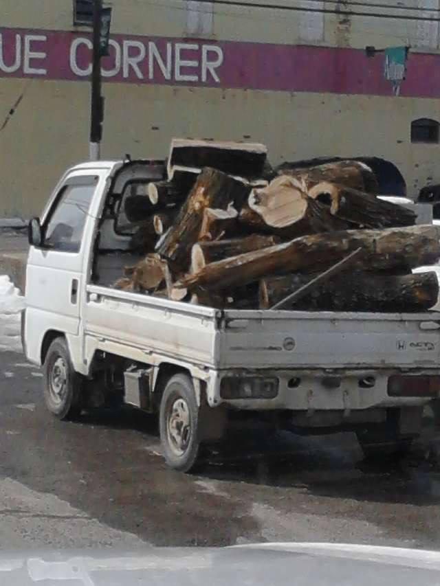 Firewood from around the world. Teresita, Missouri.