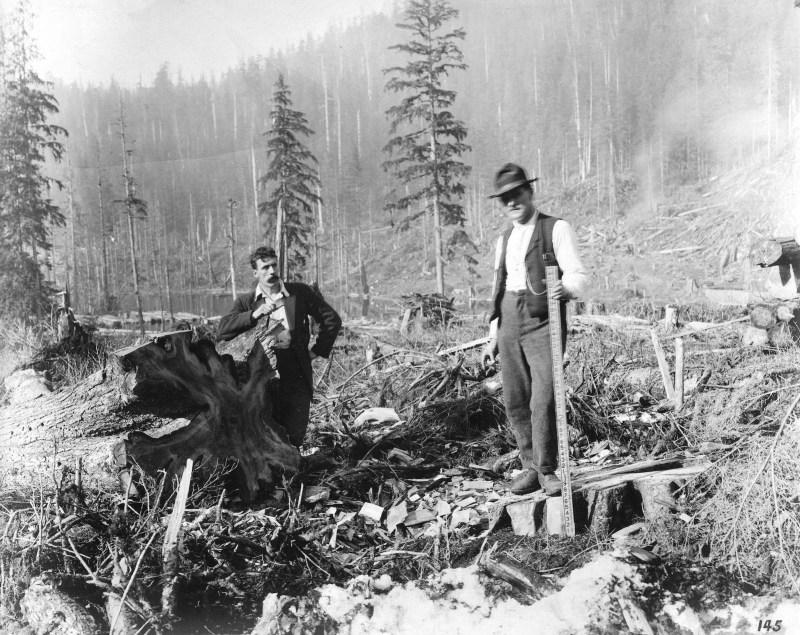 1911 Coquitlam Dam, BC