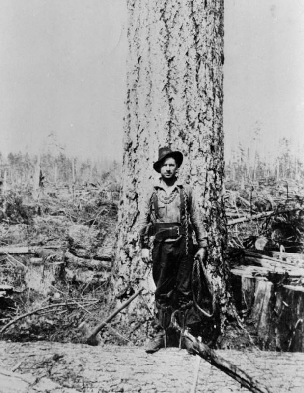 1915 High climber.