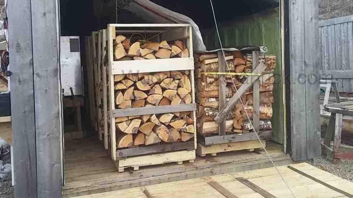 Kiln dried firewood, Antigonish, Nova Scotia