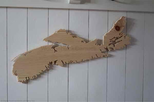 Wood map Nova Scotia No. 80