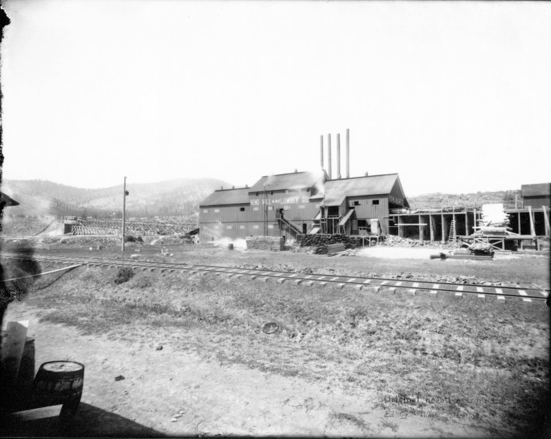 1900 Reno Lumber Mill.