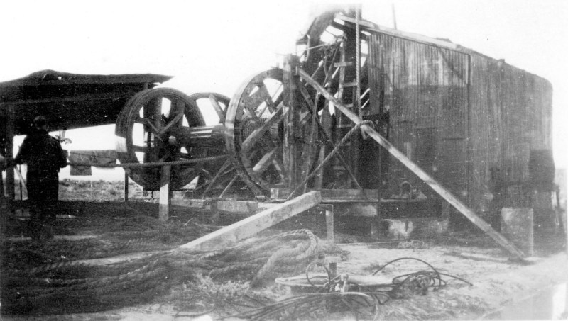 1914-1918 Unidentified machinery at Paterson Lumber.