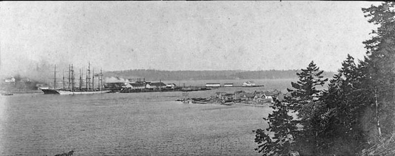 1893-1906 Port Ludlow sawmill, WA
