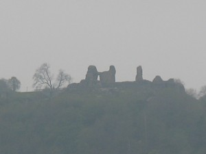 The allure of Montgomery Castle to the west