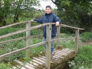 Footbridge near Buttington