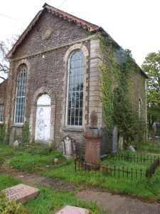The old Hope Chapel, Pandy