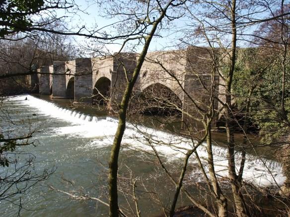 The Dove Bridge near Uttoxeter