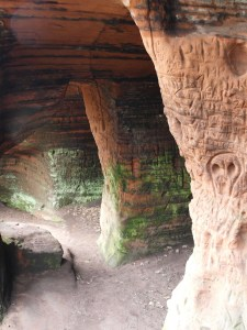 Caves below Kinver Edge