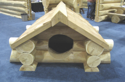 Log Dog House