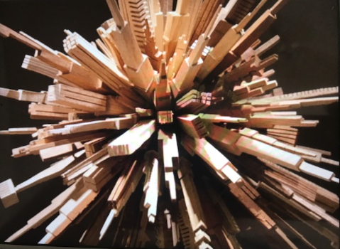Recycled Wood Art(1)