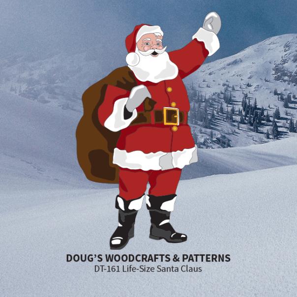 DT-161 Life-Size Santa Claus Pattern