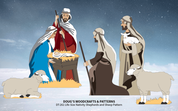 DT-260261 Life-Size Nativity Ensemble #1