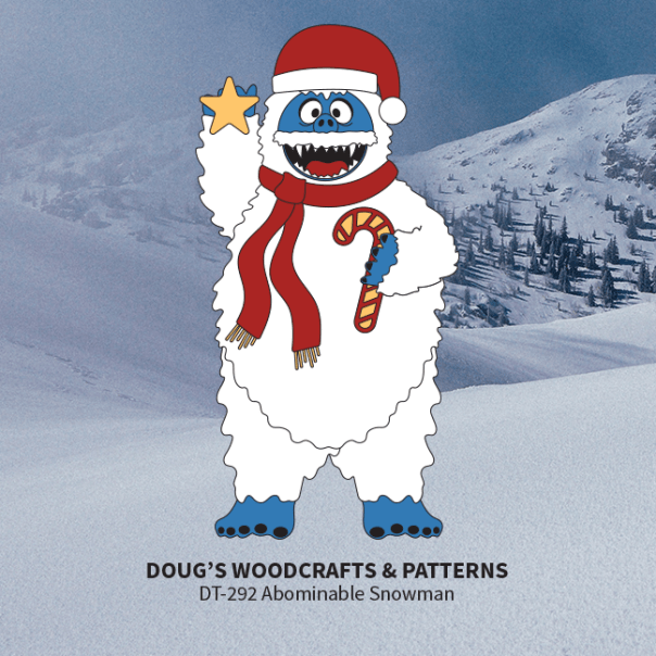 DT-292 Abominable Snowman Pattern