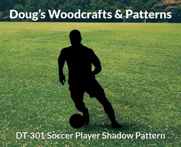 DT-301 Soccer Player Shadow Pattern