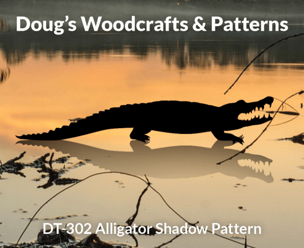 DT-302 Alligator Shadow Patterns