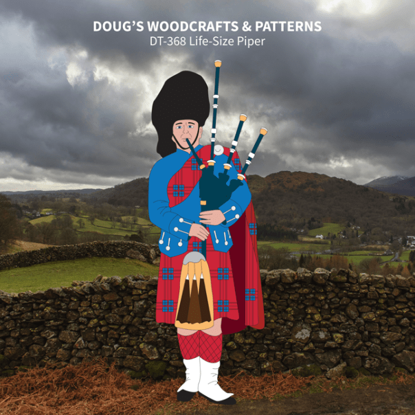 DT-368 Life-Size Piper Pattern
