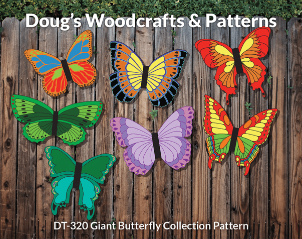 DT-320 Giant Butterfly Collection Pattern