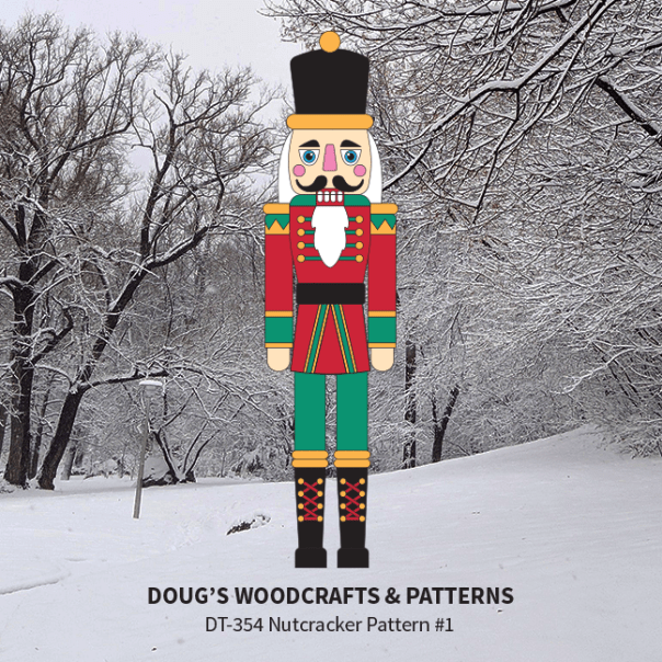 DT-354  Nutcracker Pattern #1