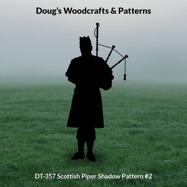 DT-357 Scottish Piper Shadow Pattern #2