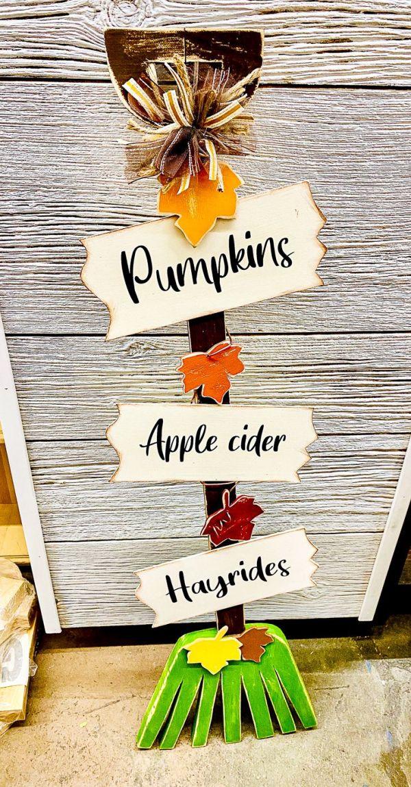Fall Autumn Harvest Rake