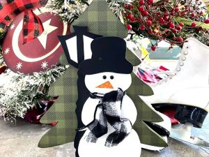 Winter stackable snowman 2021