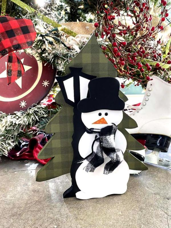 Winter stackable snowman 2021