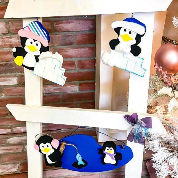 Winter Penguin Ladder Kit 2021