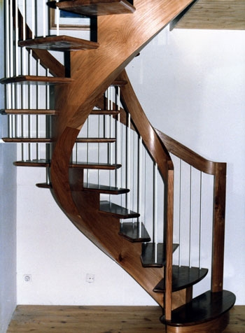 How To Build A Spiral Staircase Spiral Staircase Design   Building A Curved Staircase   Indoor   36 Inch Diameter   Garage   Circular   Outside
