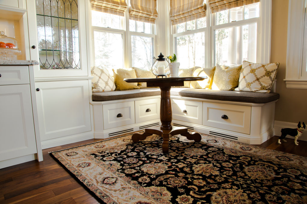 Dining banquette bench with storage. diy storage bench for ...