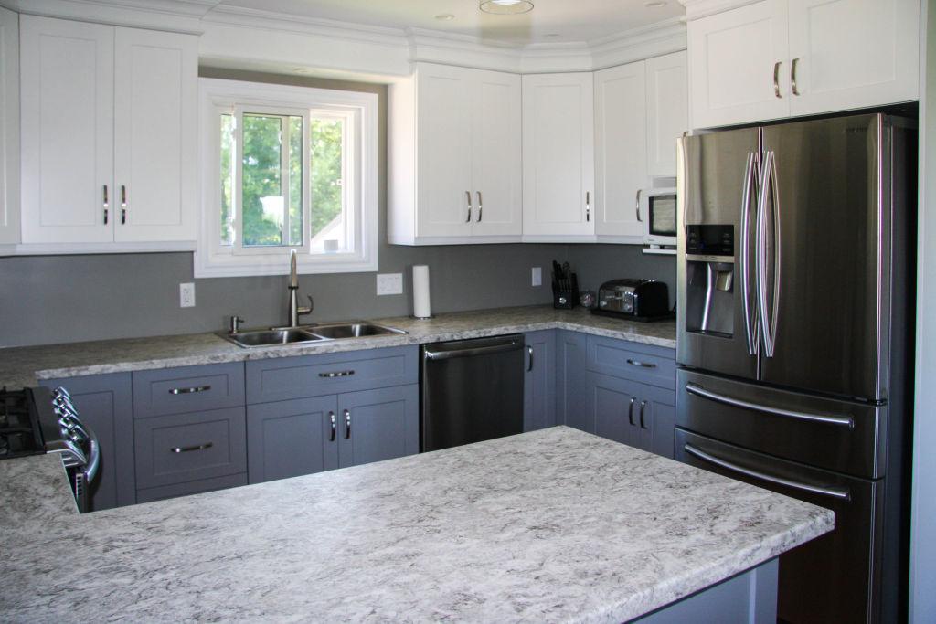 Two Tone Semi Custom Kitchen Woodecor Quality Custom