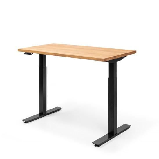 electric desk, writing desk, wooden desk