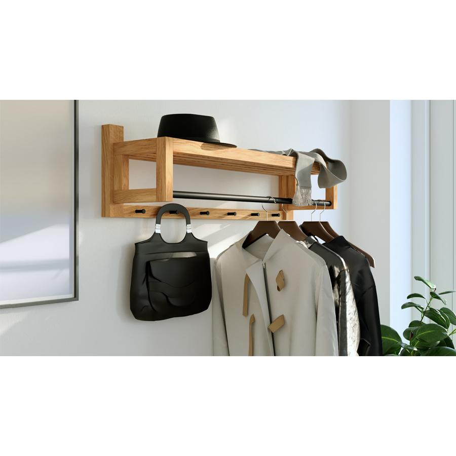 coat rack, wooden coat rack