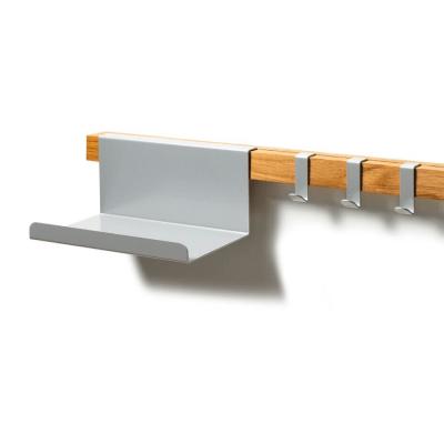 Grey hooks & tray