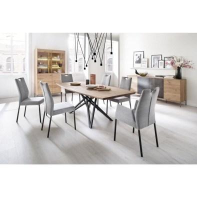ruokapöytä, dining table, wooden dining table, oak dining table