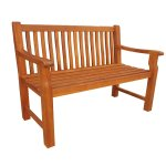 Chunky 2 Seater Bench Simply Wood