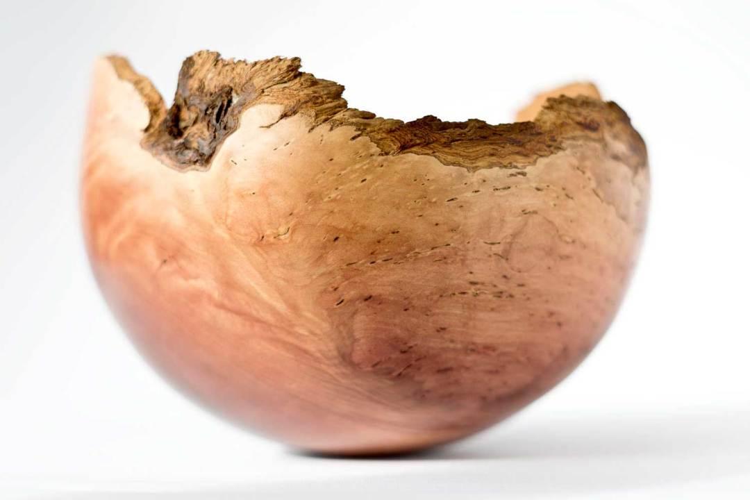 Natural Edge Rim Bowl