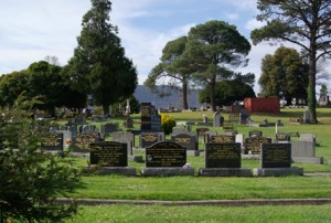 Woodend cemetery