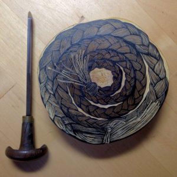 Tony Drehfal's Sweetgrass Swirl in March!