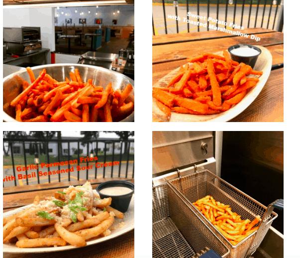 fries, fry basket
