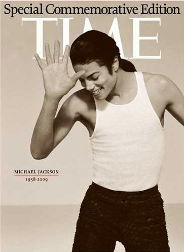 Time's Michael Jackson cover