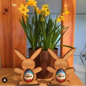 Easter kinder holders